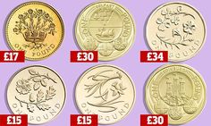 A number of rare £1 coins are fetching high prices online as the round coinage is phased out from March. The rarest £1 coin currently in circulation is the Edinburgh £1.