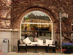 kawiarnia w Stokholmie
