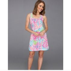 Let's CHA CHA cordon dress Asking $110 via ️️ but feel free to make offers Lilly Pulitzer Dresses