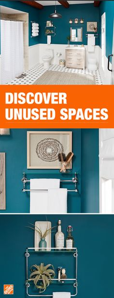 Maximize wall and vanity space in your bathroom without sacrificing style Bath Storage, Bath Remodel, Decoration, Home Organization, Home Projects, Home Remodeling, Sweet Home, New Homes, House Design