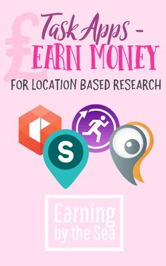 Task Apps Earn money for location based research. #workfromhome #money #pblogger #lblogger #ukmoneyblog