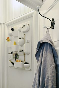 Want: this cult Vitra organizer is the jam for a bathroom wall