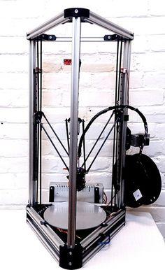 Folger Tech Kossel 2020 Full 3D Printer Kit w/Auto-Level