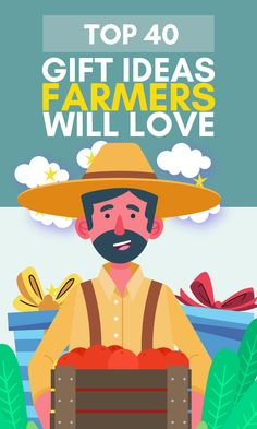 Are you looking for original & unique gifts for farmers? Then you have come to the right place! We sure BALED it when it comes to our list of best gifts for farmers & ranchers. Whether you're looking for funny farmers gifts, christmas presents for farmers, or gifts for a farmer's wife, we have it all in our top 40+ best gifts for farmers & ranchers. Get ready for some UDDERly great stuff! Here we go! #giftsforfarmers #giftsforranchers #farminggifts #ranchinggifts #gifideasforfarmers Christmas Presents For Boyfriend, Great Christmas Gifts, Paul Harvey, Unique Gifts, Best Gifts, Gifts For Farmers, Christmas Stocking Stuffers, Work Gloves, Top 40
