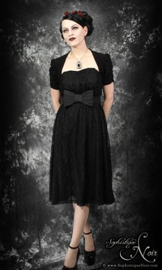 "Gothic Lace Party Dress.  Okay, maybe not ""everyday"" but this is super cute and I didn't know where else to put it!"