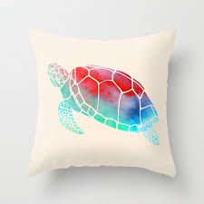 D I Y  W a t e r c o l o r  P i l l o w s :                     What you'll need:    - pillowcase  - acrylic paint or fabric paint (not wat...