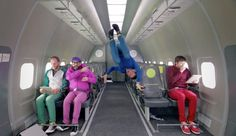 Filmed in one long take, thanks to 20 flights aboard a Russian S7 Airlines parabolic flight, stunt-video aficionados OK Go present Upside Down & Inside Out, all filmed in zero gravity with, as they no