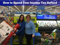 How to Spend Your Income Tax Refund #ad #StraightTalkTesters