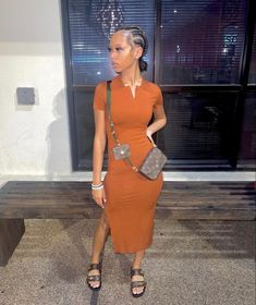 Peplum Dress, Wrap Dress, Bodycon Dress, Black Women Hairstyles, Bun Hairstyles, Braids, Beautiful Women, How To Wear, Dresses
