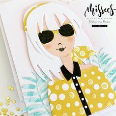 Studio Lighting, Little Miss, Cat Eye Sunglasses, Labels, Card Ideas, Cards, Sparkle, Bullet Journal, Stamp