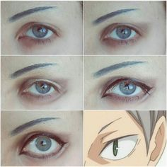My typical haikyuu makeup Description will be up soon