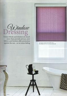 In their Sept/Oct issue, Northen Ireland Homes & Lifestyle show how amazing the new Bloc Blinds Fabric Changer is in rooms lacking a little colour and personality.. #blocblinds #rollerblinds #fabricchanger #blinds www.blocblinds.co.uk