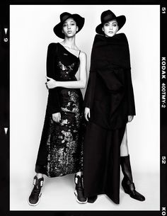 "Odette Pavlova "" Rave Girls Rule "" by Luigi & Iango Vogue Japan February 2017"