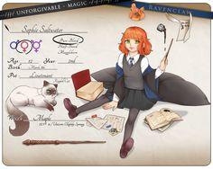 uM: Sophie Saltwater by nuenie on DeviantArt Hogwarts, Harry Potter Oc, Dnd Characters, Fictional Characters, Marauders Era, Fantastic Beasts, Ghibli, Family Guy, Fan Art