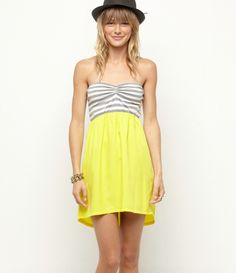 $39.50 M, L, XL (Roxy) #clothing #dress #yellow #Roxy