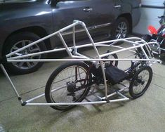 In previous articles we have looked at the where the recumbent bicycle came from and what are its benefits in this article we will look at reasons for why you and your partner should consider a rec… Tandem Bicycle, Bicycle Pedals, Electric Tricycle, Reverse Trike, Pedal Cars, Bike Frame, Bike Design, Custom Bikes, Concept