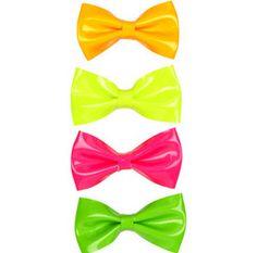 neon bow ties