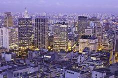 View of city São Paulo_ Brazil