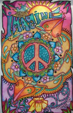 Such beautiful psychedelic art from Singleton so colorful and eye opening.