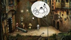 Machinarium - Five amazing, narrative mobile games (for people who don't play video games) on MouseHouseBlog.com