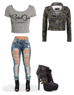 """""""Untitled #158"""" by lynx-lupus on Polyvore featuring H&M"""