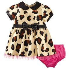 Harajuku Mini for Target® Infant Girls' Leapard Print Dress - Brown