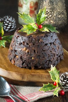 """foodffs: """" Have fun this Stir Up Sunday by getting the whole family involved in making a delicious Christmas Pudding complete with lucky silver six pence. http://charlotteslivelykitchen.com/christmas-pudding/ Really nice recipes. Every hour. Show me..."""