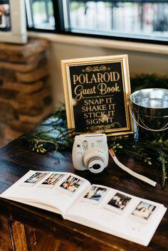 Wedding Ceremony Ideas, Wedding Book, Wedding Signs, Our Wedding, Wedding Photos, Dream Wedding, Outdoor Ceremony, Polaroid Wedding Guest Book, Wedding Photo Guest Book