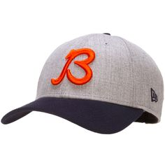 91f9c49383171 Chicago Bears Grey and Navy Adjustable Hat with