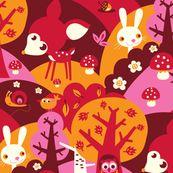 Little Forest - bora - Spoonflower