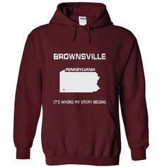 Brownsville-PA07 - #short sleeve sweatshirt #black hoodie womens. CHEAP PRICE: => https://www.sunfrog.com/LifeStyle/Brownsville-PA07-7980-Maroon-41214329-Hoodie.html?60505