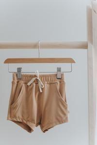 Basic bottoms for summer. Modern Kids, Vintage Shorts, Gender Neutral, Toddler Outfits, Size Chart, Casual Shorts, Kids Fashion, Summer Outfits, Fabric