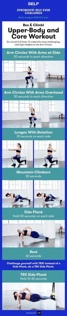 "This full-body ""Box and Lunge"" strength workout hits your core, glutes, and arms—all in under 10 minutes. It's fast and efficient, so you'll be done in no time! Full Body Strength Workout, Strength Training, Body Training, Training Tips, Sculpter Son Corps, Killer Workouts, At Home Workouts, Body Workouts, Workout Routines"