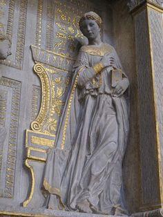Donatello (1386-1466), Annunciazione Cavalcanti, dettaglio, 1435 circa, Basilica di Santa Croce, Firenze