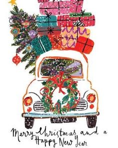 Merry Christmas and happy new year cards. Merry Christmas for your friends and loved ones. Free online Merry Christmas & Happy New Year cards on Christmas. Noel Christmas, Merry Little Christmas, Merry Christmas And Happy New Year, Vintage Christmas Cards, Christmas Images, Christmas Greetings, Winter Christmas, Christmas Ornaments, Xmas