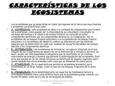 APOYO ESCOLAR ING MASCHWITZ: LOS ECOSISTEMAS ( CON ACTIVIDADES )