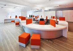 Banking hall interior design