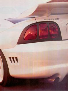 """""""Saleen R"""", Motor Trend, April 1996 Sn95 Mustang, Saleen Mustang, My Dream Car, Dream Cars, 60s Muscle Cars, Vintage Mustang, Hot Rides, The Old Days, Tail Light"""