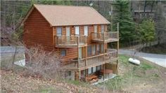 Gatlinburg, TN: This lodge style home offers three floors of fun and if that's not enough, you are just a hop, skip and a jump from the Upper Alpine Clubhouse and swi...