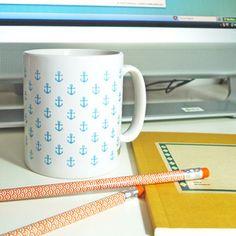Little anchors mug