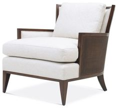 California Cane Lounge Chair - Baker Furniture - chairs - other metro - Baker Furniture
