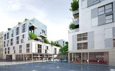 SOA Architects Paris > Projects > ISSY-LES-MOULINEAUX HOUSING