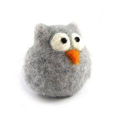 Needle Felted Owl by RolyzTreasures