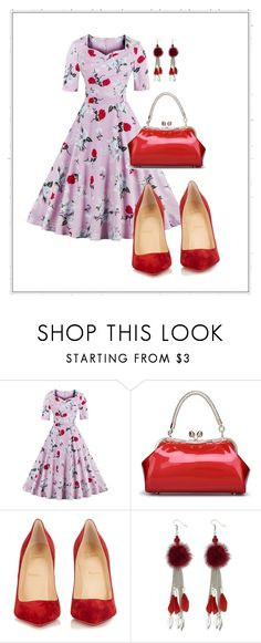 """""""Untitled #102"""" by armina-saric ❤ liked on Polyvore featuring Christian Louboutin"""