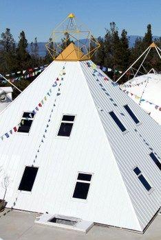 40ft Central Teaching Meditation Pyramid at Buddha Maitreya the Christ Shambhala Monastery & Planetary Healing Center