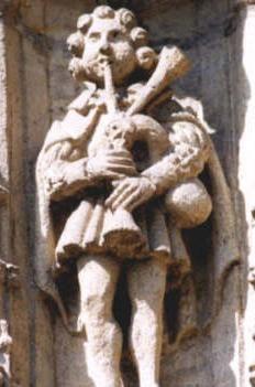 Sculpture  de Caudebec en Caux