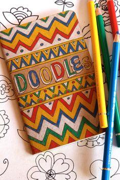 Doodles OOAK Pocket Moleskine 15 dollars  i need a doodle book!!