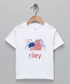 Fourth of July Personalized Tee from Tickled Pink NOLA on #zulily