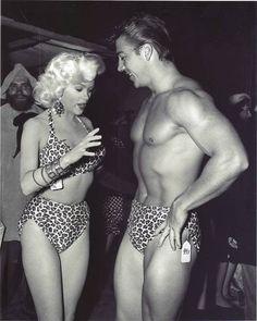 Jayne Mansfield & Mickey Hargitay, 1950s. Mariska Hargitay's parents (Law and Order, SVU)