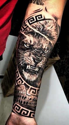 Tattoos Discover 70 female and male lion tattoos - diy tattoo images - Best Tattoo Share Female Lion Tattoo Lion Forearm Tattoos Lion Head Tattoos Forarm Tattoos Lions Tattoo Top Tattoos Tiger Tattoo Hand Tattoos Tattoos For Guys Lion Forearm Tattoos, Lion Head Tattoos, Forarm Tattoos, Female Tattoos, Male Hand Tattoos, Tattoo Maori, Tatoos, Lion Tattoo Sleeves, Best Sleeve Tattoos